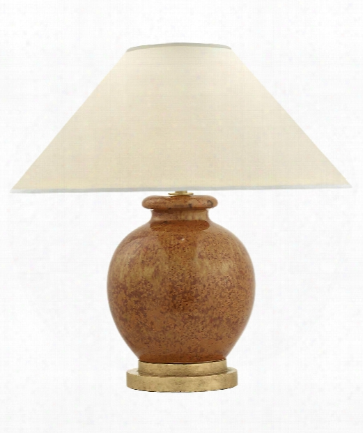 """Chang 18"""" 1 Light Table Lamp In Shanghai Brown"""