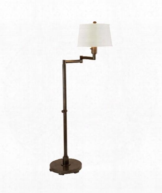 Chunky 1 Light Reading Lamp In Bronze