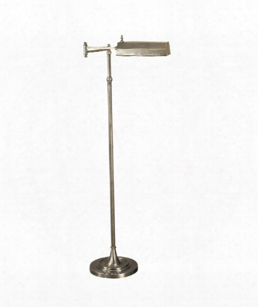 Dorchester 1 Light Reading Lamp In Antique Nickel