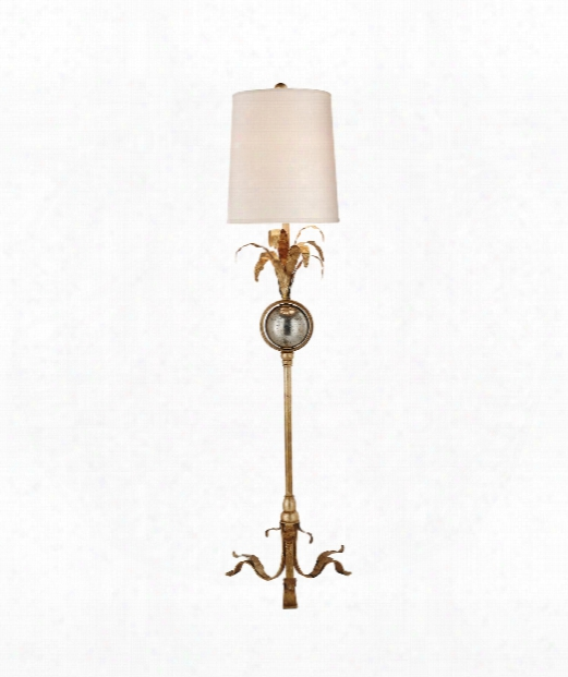 "Gramercy 10"" 1 Light Table Lamp In Gilded Iron"