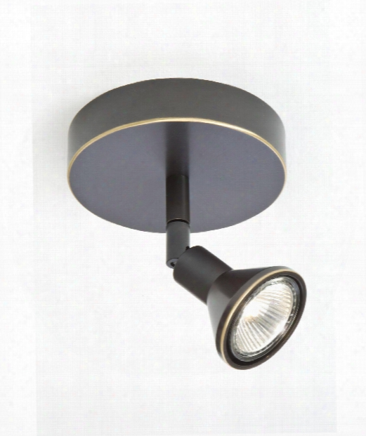 Lichtstar 1 Light Mini Pendant In Hand-brushed Old Bronze