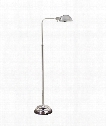 Apothecary 1 Light Reading Lamp in Polished Nickel
