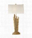 "Claymore 21"" 2 Light Table Lamp in Gilded Iron"