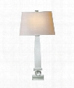 "Entarsus 14"" 1 Light Table Lamp in Crystal"