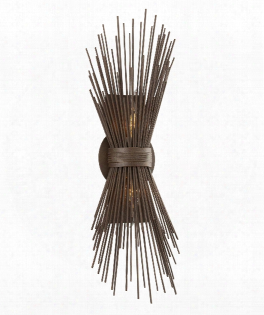"Uni 8"" 2 Light Wall Sconce In Tidepool Bronze"