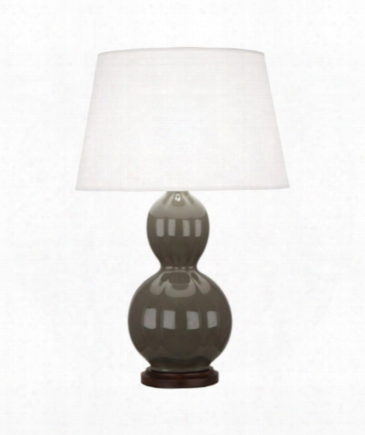 "Williamsburg Randolph 7"" 1 Light Table Lamp In Wood-gray"
