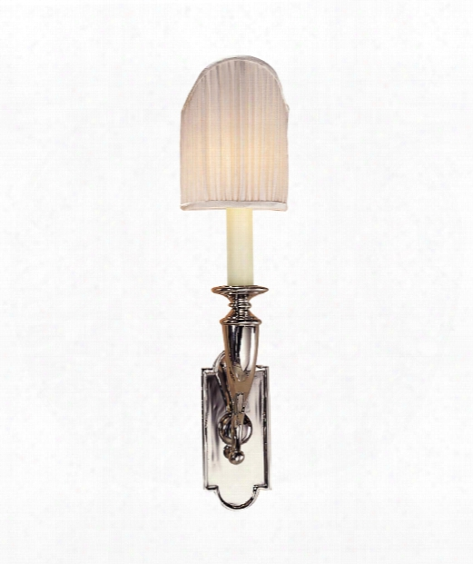 "3"" 1 Light Wall Sconce In Polished Nickel"
