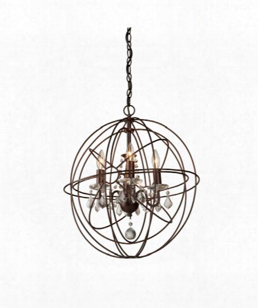"""Carnaby Street 20"""" 4 Light Mini Chandelier In Oil Rubbed Bronze"""