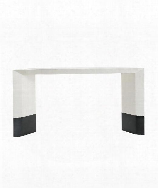 "Lionel 62"" Console Table In White"