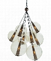 "Caviar 29"" 1 Light Multi Pendant Light in Iron"