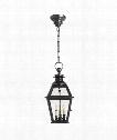 """Chelsea 9"""" 3 Light Outdoor Hanging Lantern in Bronze"""