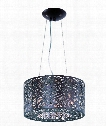 "Inca 16"" 7 Light Large Pendant in Bronze"
