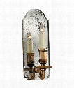 "Kensington 5"" 1 Light Wall Sconce in Antique Mirror"