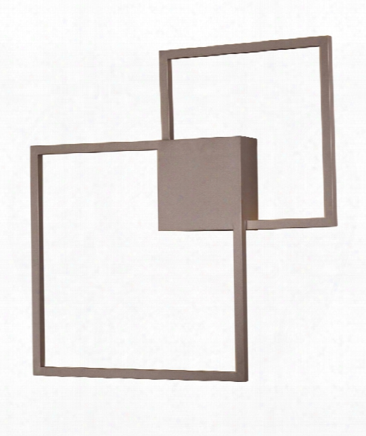 """Traverse 29"""" Led 2 Light Wall Sconce In Champagne"""