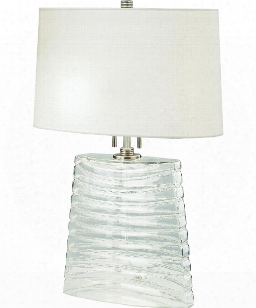 "Wells 12"" 2 Light Table Lamp In Dark Antique Nickel"