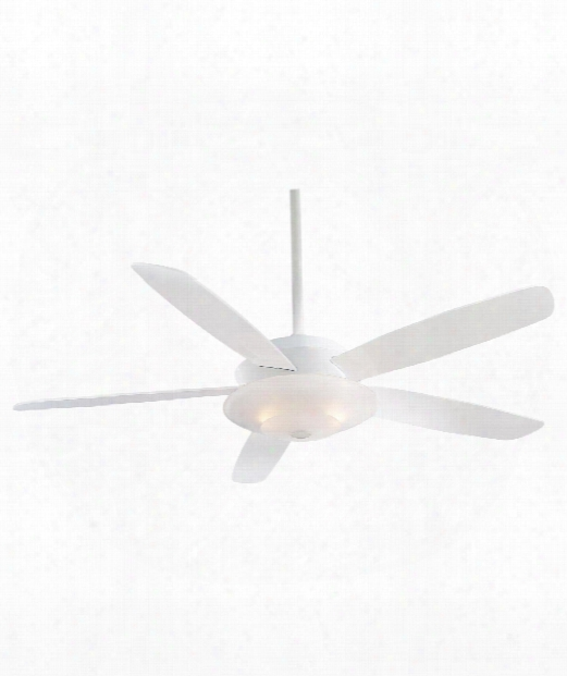 Airus Ceiling Fan In White