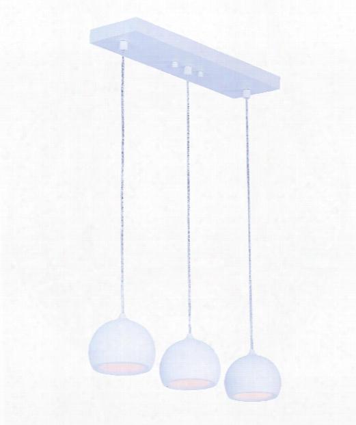 """Alumilux 5"""" Led 3 Light Island Light In White"""