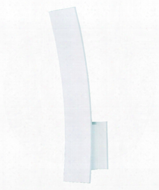 """Alumilux Al 4"""" Led 5 Light Outdoor Wall Sconce In White"""