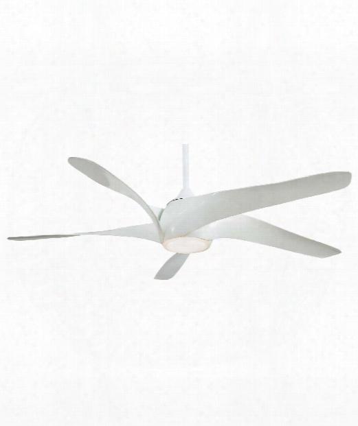 Artemis Xl5 1 Light Ceiling Fan In White