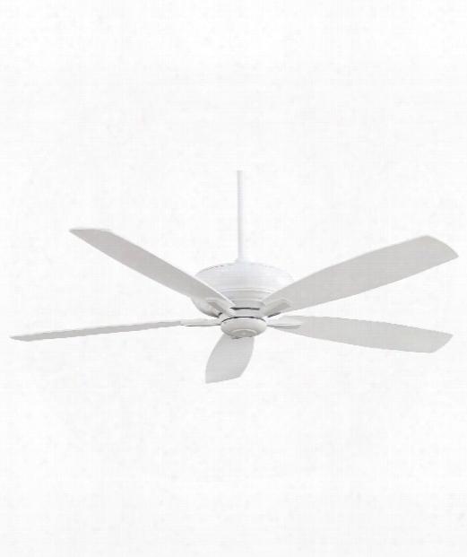 Kola-xl Ceiling Fan In White