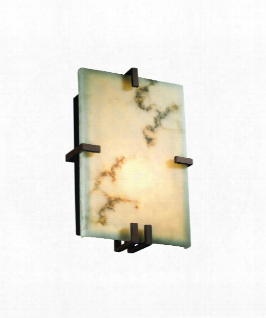"Lumenaria 9"" 2 Light Wall Sconce In Dark Bronze"