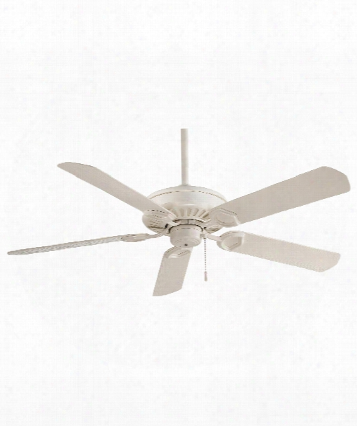 Sundowner Outdoor Ceiling Fan In Bone White