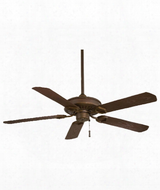 Sundowner Outdoor Ceiling Fan In Oil Rubbed Bronze
