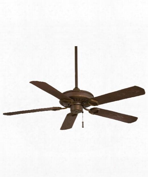 Sundowner Outdoor Ceiling Fan In Oil Rubbed Bronze