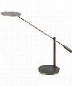 "Eco-Task 25"" LED 1 Light Desk Lamp in Bronze"