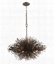 "Uni 40"" 8 Light Large Pendant in Tidepool Bronze"