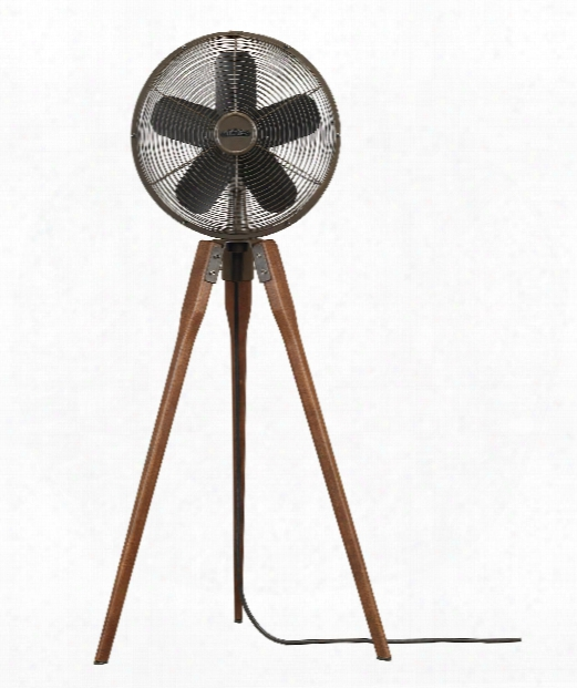 "Arden 15"" Floor Fan In Oil Rubbed Bronze"