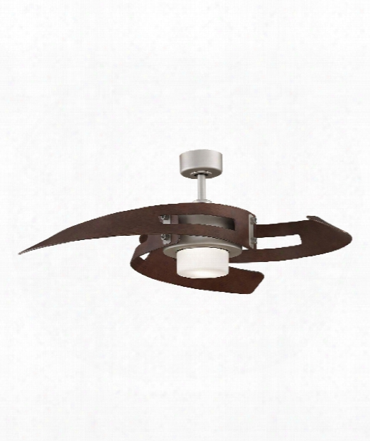 Avaston 2 Light Ceiling Fan In Satin Nickel