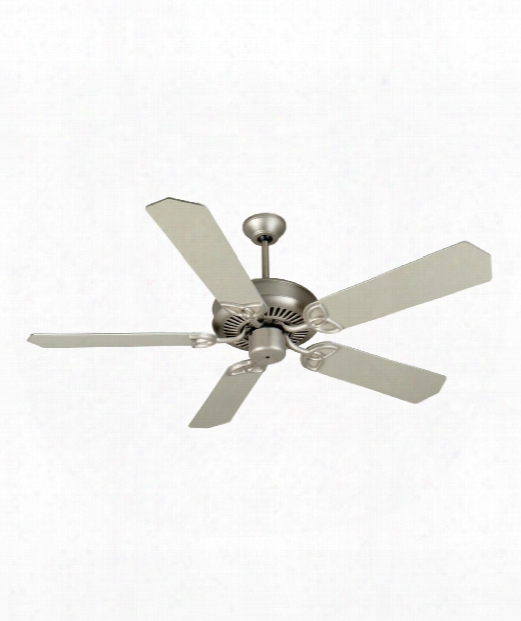 Cxl Ceiling Fan In Brushed Satin Nickel