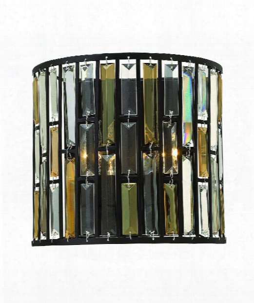 "Gemma 12"" 2 Light Wall Sconce In Vintage Bronze"