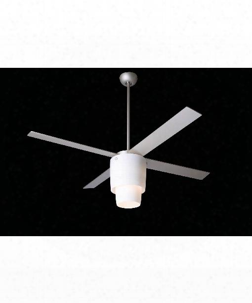 Halo 1 Light Ceiling Fan In Nickel