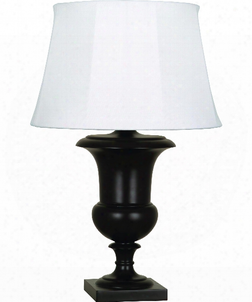 "Helena Al Fresco 10"" 1 Light Table Lamp In Java Brown"