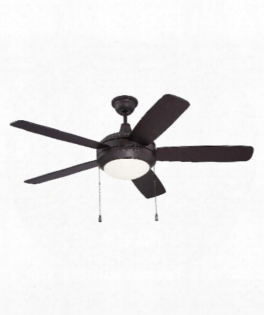 Heli Os 1 Light Ceiling Fan In Oiled Bronze Gilded