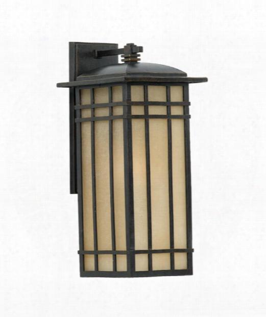 "Hillcrest 9"" 1 Light Outdoor Outdoor Wall Light In Imperial Bronze"