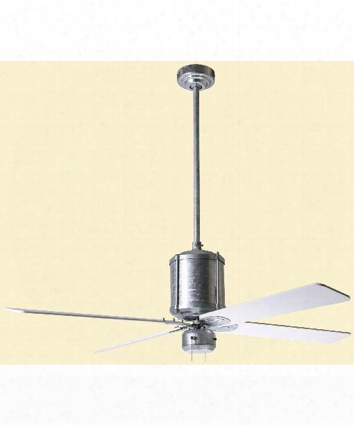 Industry Ceiling Fan In Galvanized