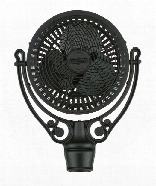 Old Havana Ceiling Fan In Black