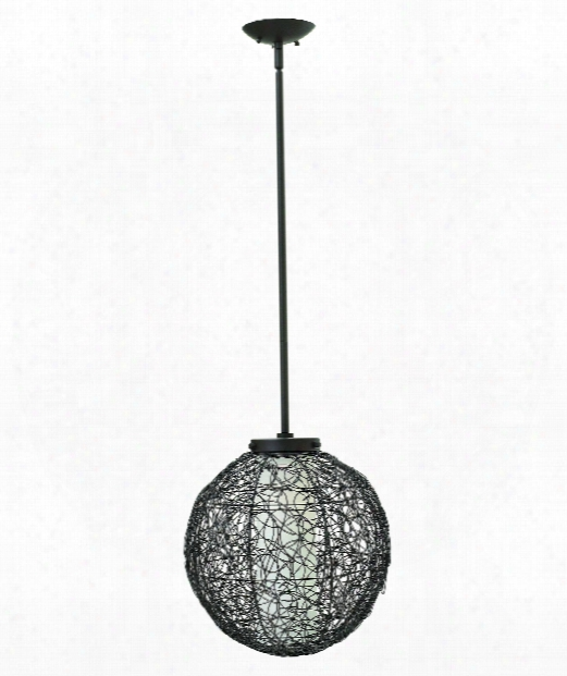 "Spago 14"" 1 Light Mini Pendant In Vintage Bronze"