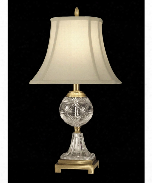 Sutton 12&quot ;1 Light Table Lamp In Antique Brass