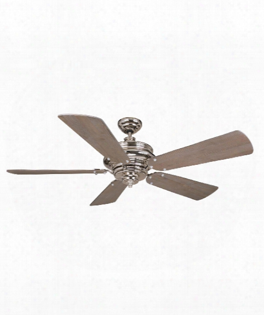 Townsend Ceiling Fan In Polished Nickel