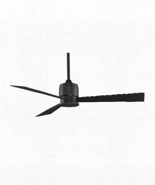 """Zonix 7"""" Ceiling Fan In Black"""