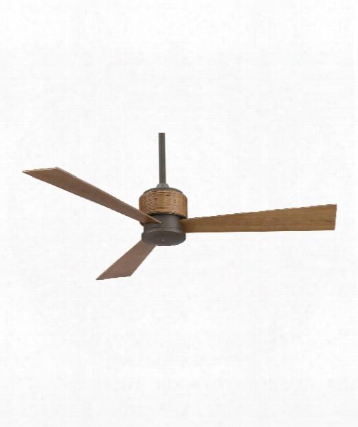 """Zonix 7"""" Ceiling Fan In Oil Rubbed Bronze"""