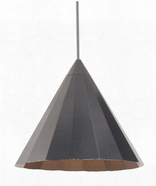 "Astora 12"" 1 Light Mini Pendant In Gunmetal"
