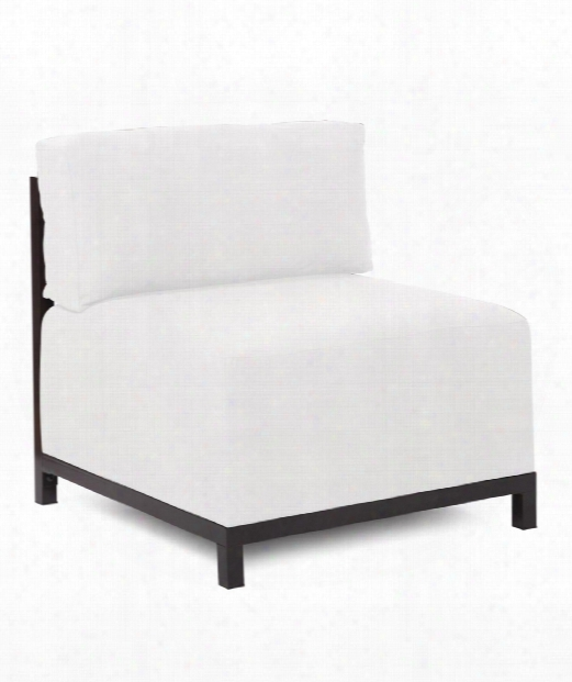 """Axis 31"""" Occasional Chair In White"""