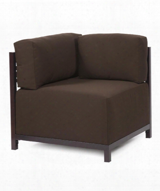 """Axis 33"""" Occasional Chair In Chocolate Brown"""