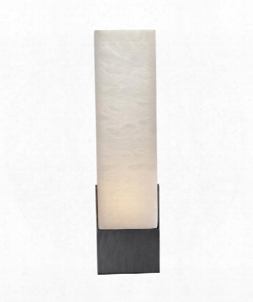 "Covet 4"" 1 Light Wall Sconce In Bronze"