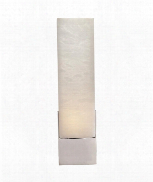 "Covet 4"" 1 Light Wall Sconce In Polished Nickel"